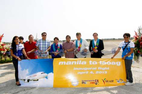 SEAIR's  first Ilocos Norte  flight