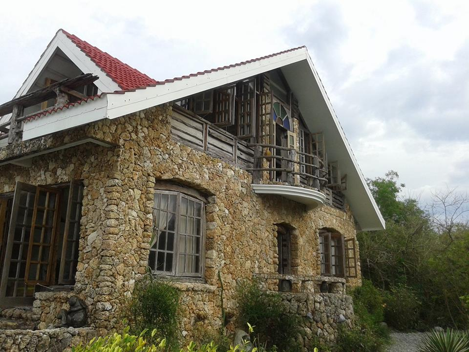The walls of the Bahay na Bato are adorned with coral stones which render a unique look for the structure. (Photo by Justin Paul Marbella, PITO La Union)